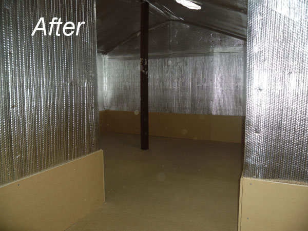 Dust Proof Rooms By Attic Services Perth Rockingham